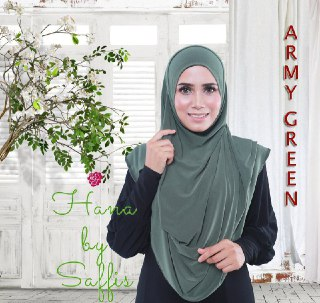 Hana Double-Loop - Army Green