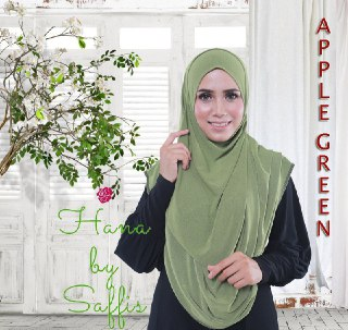 Hana Double-Loop - Apple Green
