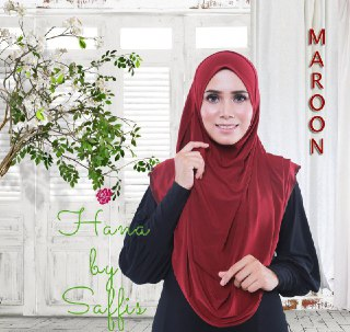 Hana Double-Loop - Maroon