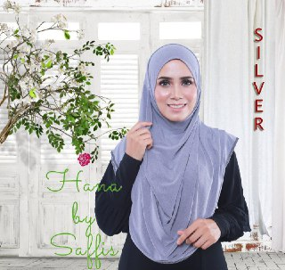 Hana Double-Loop - Silver