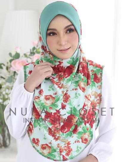 Tudung Labuh Muslimah Berdagu Aisyah Exclusive XL - A-209