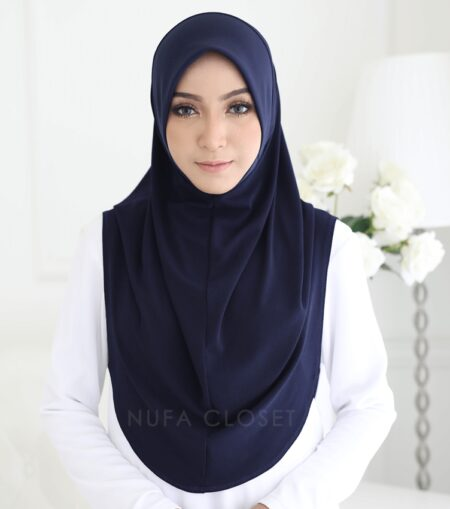 Instant Humairah Exclusive - Blue Black