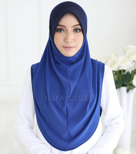 Instant Humairah Exclusive - Royal Blue
