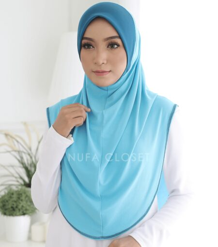 Instant Humairah Exclusive - Sky Blue