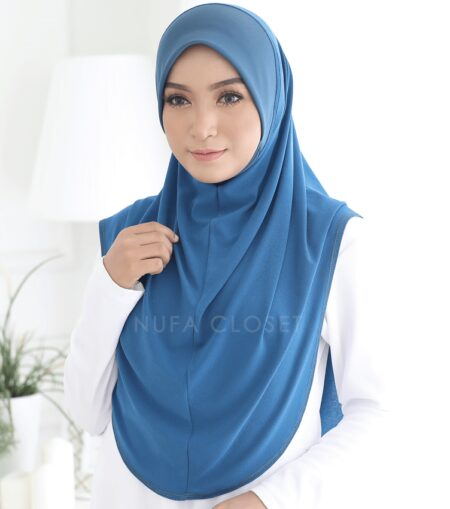 Instant Humairah Exclusive - Teal Blue