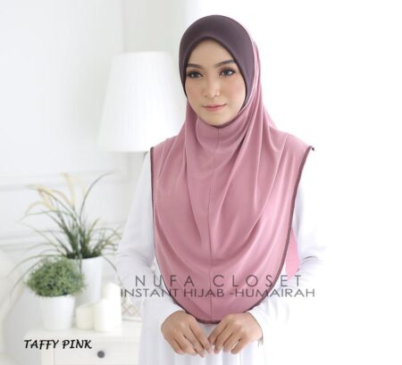 Instant Humairah Exclusive - Taffy Pink