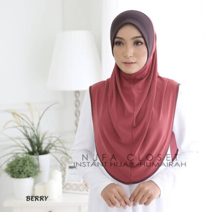 Instant Humairah Exclusive - Berry