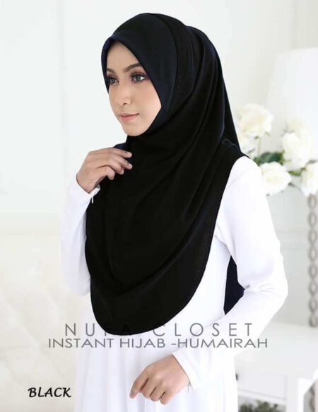 Instant Humairah Exclusive - Black