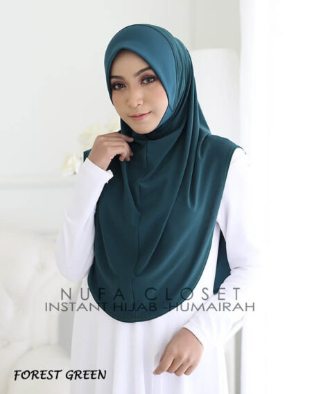 Instant Humairah Exclusive - Forest Green