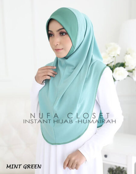 Instant Humairah Exclusive - Mint Green