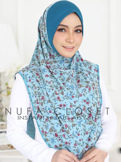 Tudung Labuh Muslimah Berdagu Aisyah Exclusive XL - A-202