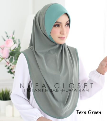 Instant Humairah Exclusive - Fern Green