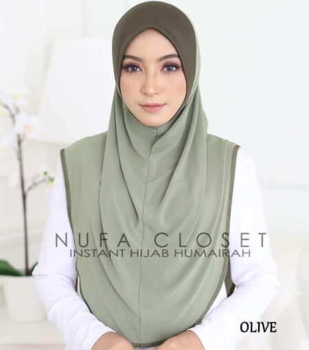 Instant Humairah Exclusive - Olive