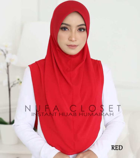 Instant Humairah Exclusive - Red