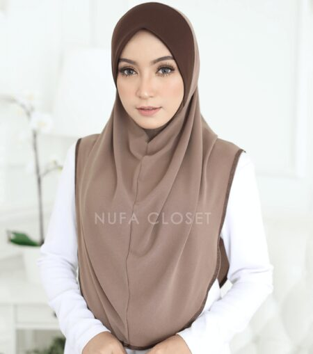 Instant Humairah Exclusive - Hazelnut