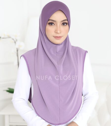 Tudung Instant XL Zinnirah Exclusive - Lavender
