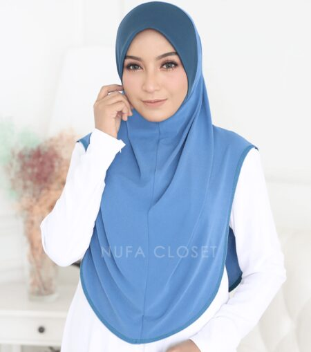 Instant Humairah Exclusive - Carolina Blue