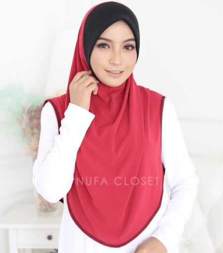 Instant Humairah Exclusive - Strawberry Red R1
