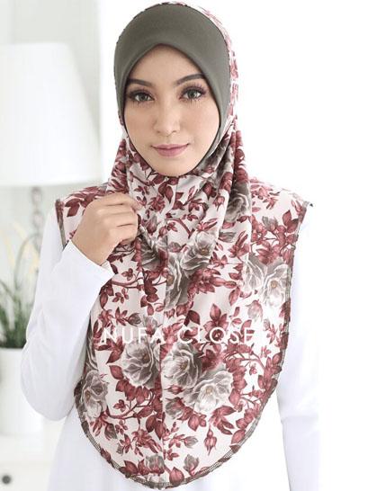 Instant Aisyah Exclusive Tanpa Dagu - Foxglove