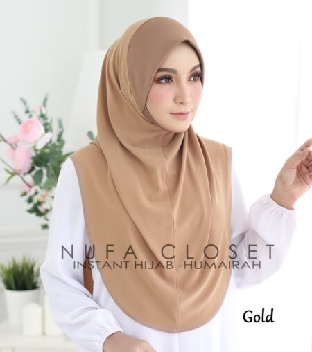 Instant Humairah Exclusive - Gold