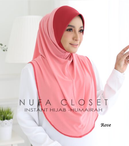 Instant Humairah Exclusive - Rose