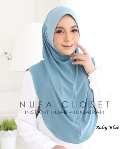 Instant Humairah Exclusive - Baby Blue