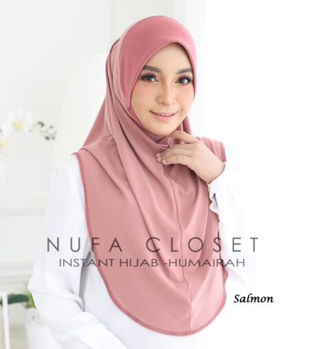 Instant Humairah Exclusive - Salmon