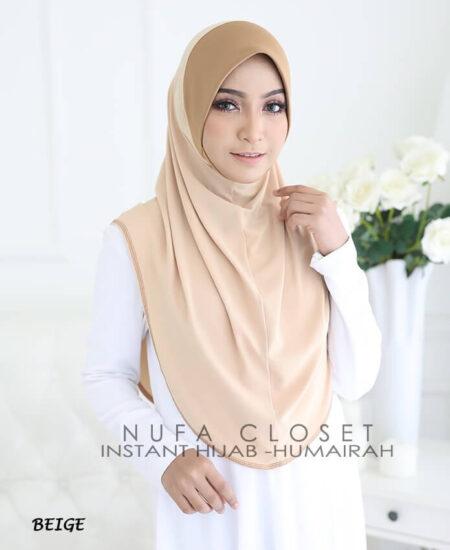 Instant Humairah Exclusive - Beige