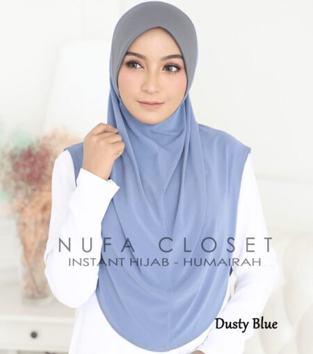 Instant Humairah Exclusive - Dusty Blue