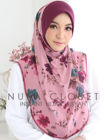 Tudung Labuh Muslimah Berdagu Aisyah Exclusive XL - A-230