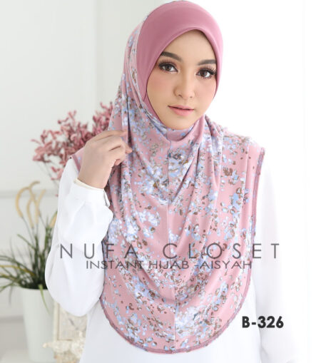 Tudung Instant Muslimah Berdagu Aisyah Exclusive - B-326