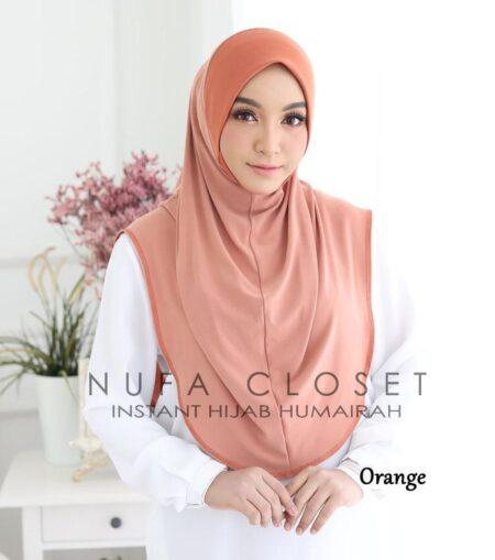 Instant Humairah Exclusive - Orange